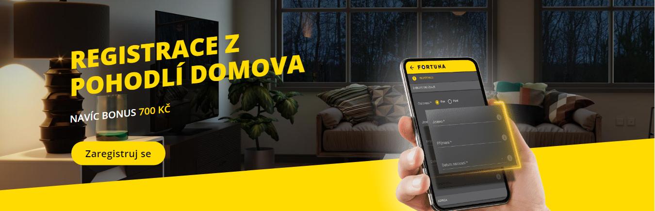 Největší české legální online casino Fortuna