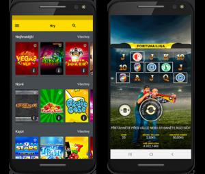 Fortuna casino v mobilní aplikaci