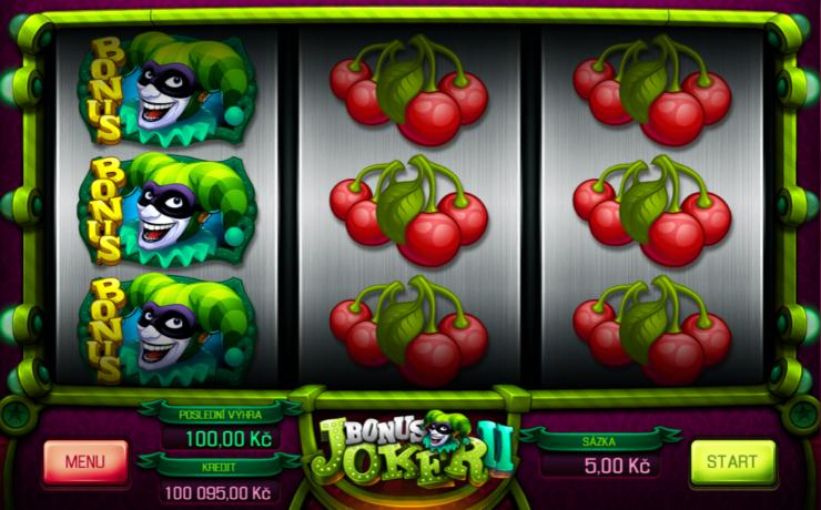 Hrací automat Bonus Joker II