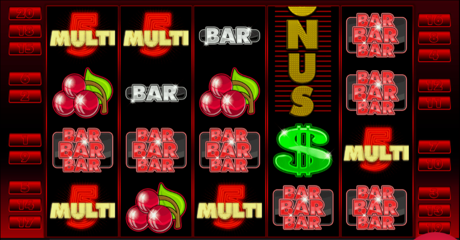 Hrací automat Multi 5