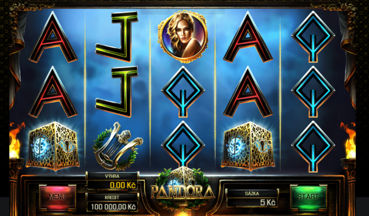 Hrací automat Pandora od Apollo games