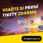 Online loterie od Fortuny - vsaďte si první tikety zdarma