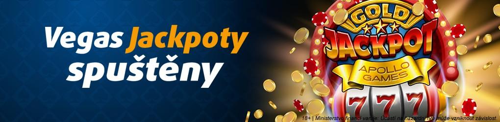 Jackpoty v casinu Tipsport