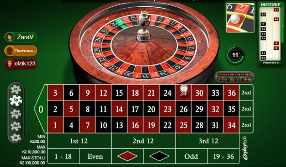 Multiplayer ruleta online u Fortuny Vegas
