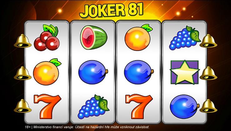 Automat Joker 81