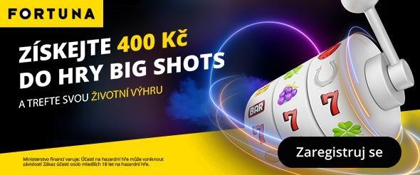 Bonus do hry Big Shots - 40 free spinů