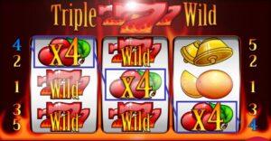 Výherní online automat Triple Wild Seven