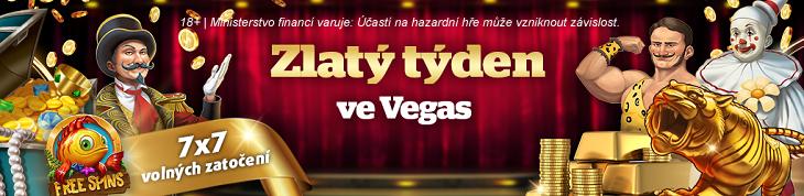 Užijte si Zlatý týden ve Vegas