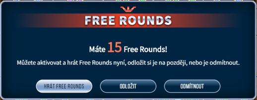 HRÁT FREE ROUNDS
