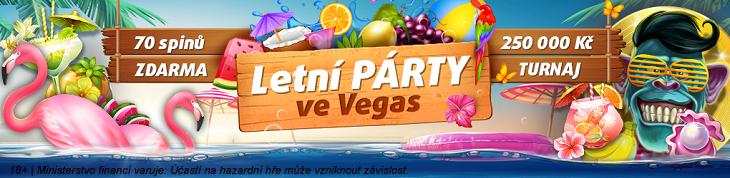 Letní párty ve Vegas