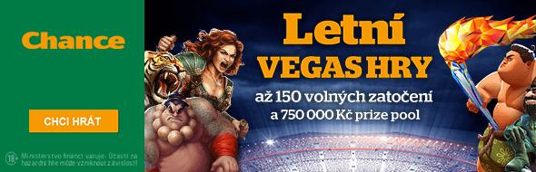 V letních Vegas hrách na vás čeká mnoho hodnotných dárků a bonusů!