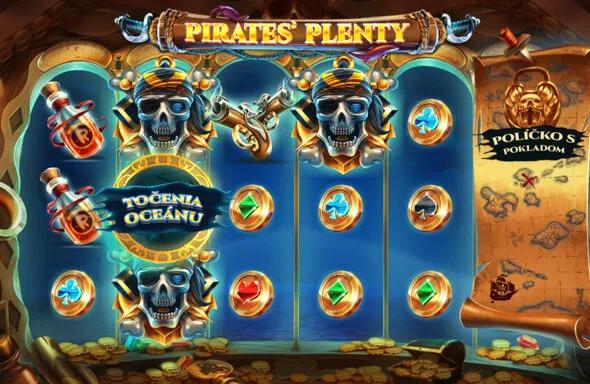 Hrací automat Pirates Plenty