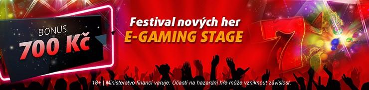 Festival nových her E-gaming - s bonusem 700 Kč